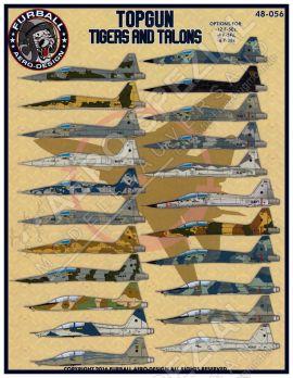 FBD48056 F-5E/F Tiger II & T-38A Talon Top Gun