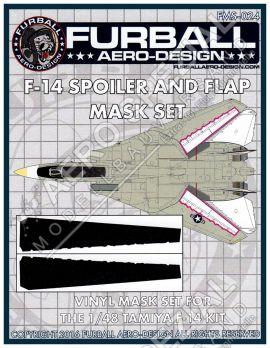 FMS4824 F-14A Tomcat Maskierfolie