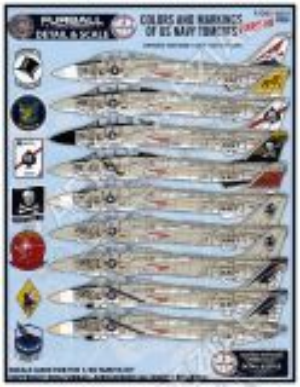 FD&S4810 F-14A Tomcat Colours & Markings Teil 3