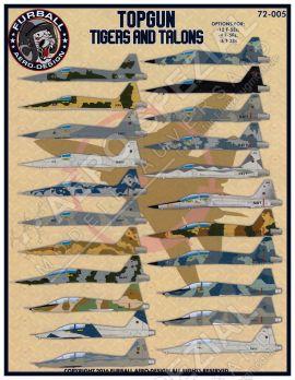 FBD72005 F-5E/F Tiger II & T-38A Talon Top Gun