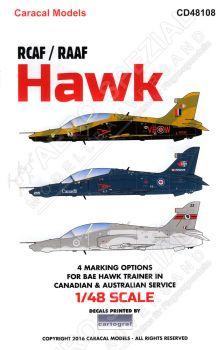 CD48108 Hawk Royal Canadian and Royal Australian Air Force