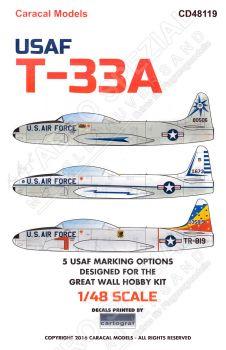 CD48119 T-33A Shooting Star U.S. Air Force