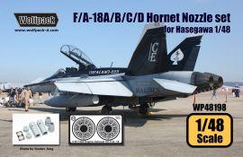 WP48198 F/A-18A/B/C/D Hornet Schubdüsen (F404-Triebwerk)