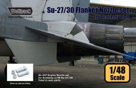 WP48207 Su-27 Flanker Schubdüsen (AL-31F-Triebwerk)
