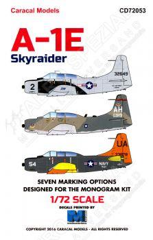 CD72053 A-1E & AD-5 Skyraider