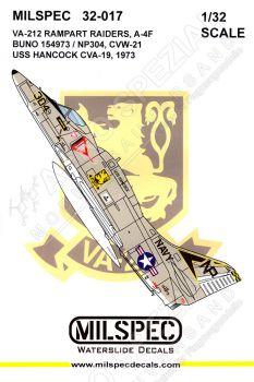 CMS3217 A-4F Skyhawk VA-212 Rampant Raiders