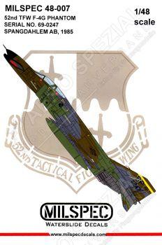 CMS4807 F-4G Phantom II Spangdahlem