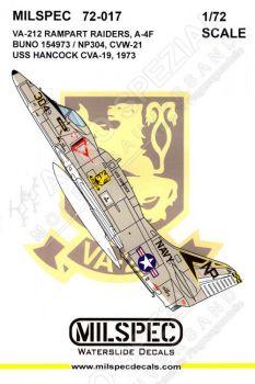 CMS7217 A-4F Skyhawk VA-212 Rampant Raiders