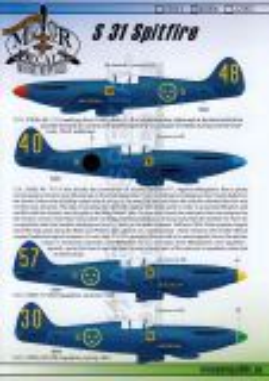 MRD4806 S 31 (Spitfire PR.XIX) schwedische Luftwaffe