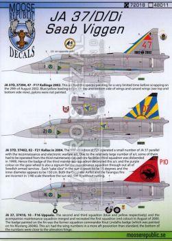 MRD7218 Saab 37 Viggen Part 2