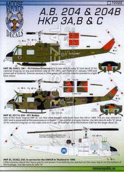MRD7222 HKP 3B/C (Agusta Bell 204)