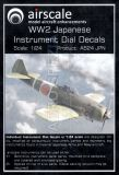 AS24JPN Cockpit Instruments for Imperial Japanese Army & Navy Aircraft WW II