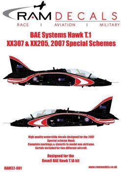 RAM32001 Hawk T.1 RAF Sonderanstriche 2007
