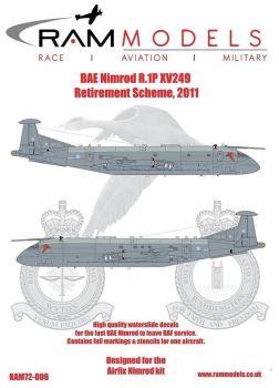 RAM72006 Nimrod R.1P Ausmusterungsfinish