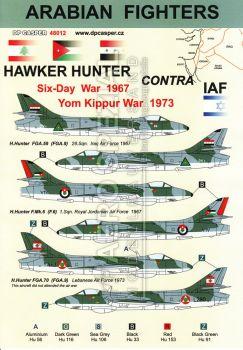 DPC48012 Arabische Jäger: Hawker Hunter kontra IAF