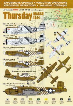DPC72025 Vergessene Operationen: Thursday, Indien/Burma, März 1944