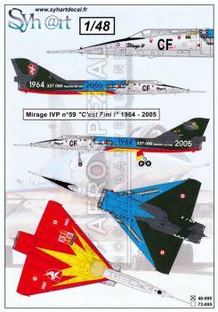 SY48095 Mirage IVP Ausmusterung C'est Fini