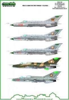 MOD48085 MiG-21 Around the World: Uganda