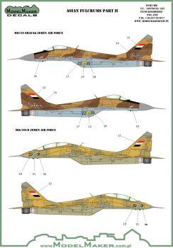 MOD72064A MiG-29 Fulcrum Iran, Jemen, Syrien