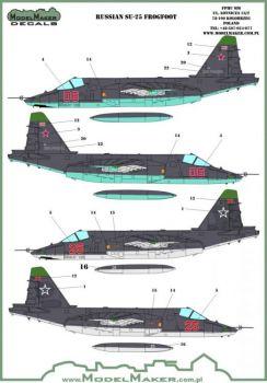 MOD72078 Su-25 Frogfoot russische Luftwaffe
