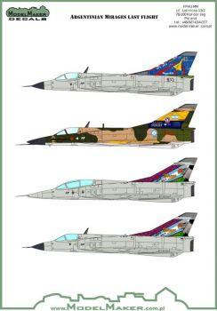 MOD72084 Argentine Mirage Farewell