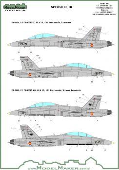 MOD72089 EF-18 Hornet Spanish Air Force
