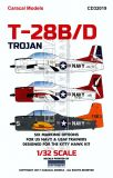 CD32019 T-28 Trojan U.S. Navy & U.S. Air Force