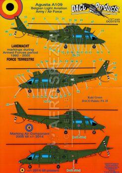DCD7275 A109BA Hirundo belgische Heeresflieger & belgische Luftwaffe