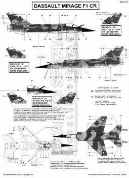 BD72026 Mirage F1CR französische Luftwaffe