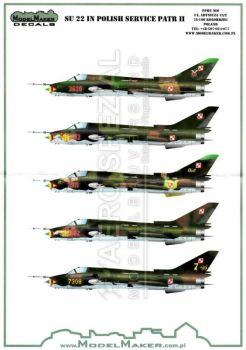 MOD72081 Su-22M-4 Fitter Fitter-K polnische Luftwaffe Teil 2