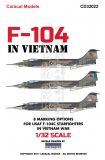 CD32022 F-104C Starfighter U.S. Air Force in Vietnam