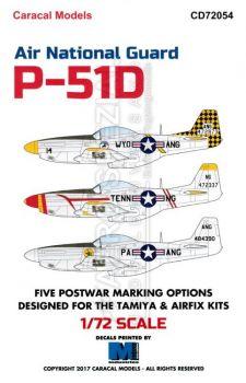 CD72054 P-51D Mustang Air National Guard