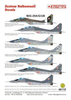 TMD48119 MiG-29AG/UB Fulcrum
