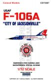 CD72067 F-106A Delta Dart City of Jacksonville