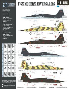 TB48258 F-5N Tiger II Modern Adversaries