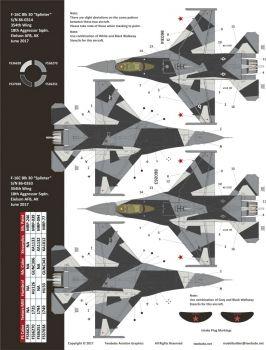 TB48259 F-16C Block 30 Fighting Falcon Alaskan Splinters