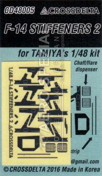 CDS4805 F-14 Tomcat Stiffener Plates