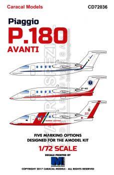 CD72036 P.180 Avanti im internationalen Einsatz