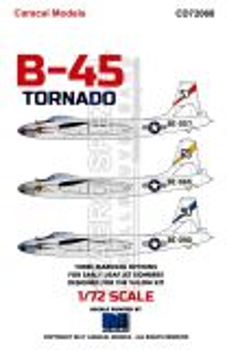 CD72068 B-45A Tornado U.S. Air Force in Europe