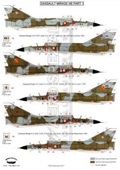 BD32051 Mirage IIIE Teil 1