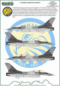 MOD32097 F-16AM/BM Fighting Falcon Romanian Air Force