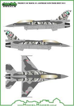 MOD48031 F-16C/D Block 52+ Fighting Falcon NATO Tiger Meet 2014