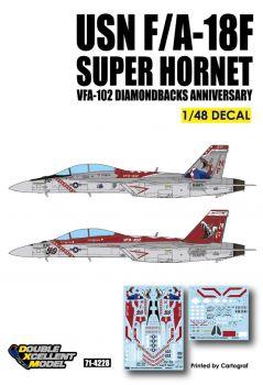 DXM48025 F/A-18F Super Hornet VFA-102 Diamondbacks