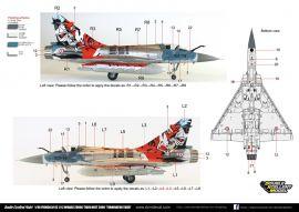 DXM48011 Mirage 2000C Terminator Tiger