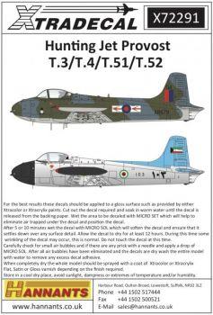 XD72291 Jet Provost T.3/T.4/T.51/T.52
