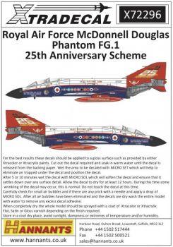 XD72296 Phantom FG.1 25-jähriges Jubiläumsfinish