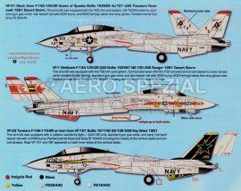ZTZ32079 F-14A Tomcat VF-1, VF-41 & VF-101
