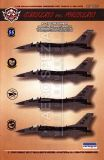 BMA48005 F-16CM Fighting Falcon Warheads on Foreheads