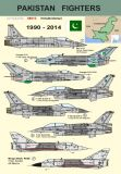 DPC48013 Pakistan Fighters 1990-2014