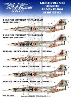 SE2348 F/TF-104G Starfighter spanische Luftwaffe